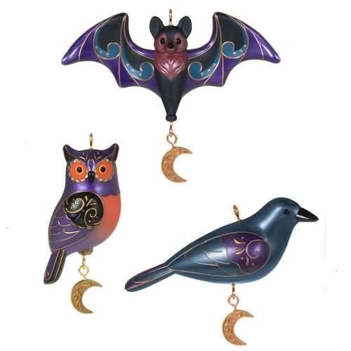 2020 Halloween - Spooky Outdoor Halloween Ornament Set (QFO5284)
