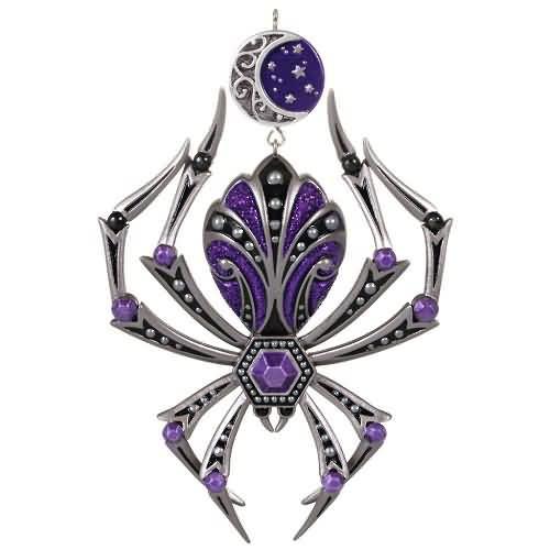 2020 Halloween - Stunning Spider Hallmark ornament (QFO5281)