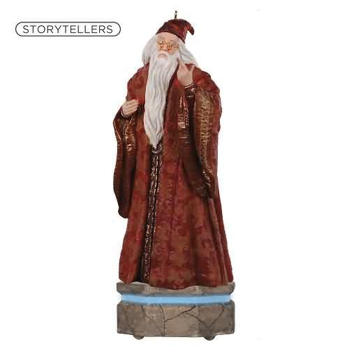 2020 Harry Potter Storyteller - Albus Dumbledore Hallmark ornament (QXI2301)