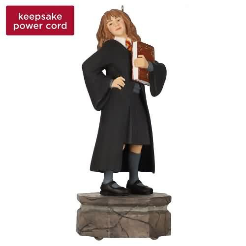 2020 Harry Potter Storyteller - Hermione Granger Hallmark ornament (QXI6221)