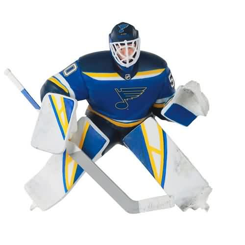 2020 Hockey - Jordan Binnington - St Louis Blues Hallmark ornament (QXI2764)