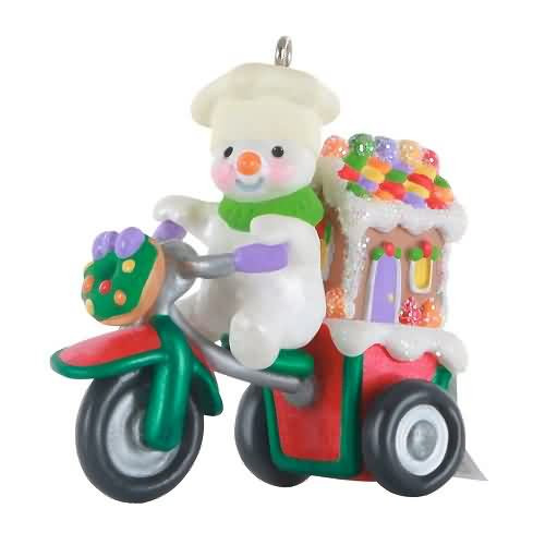 2020 Holiday Parade - Ltd - Gingerbread Delivery Hallmark ornament (QXE3284)