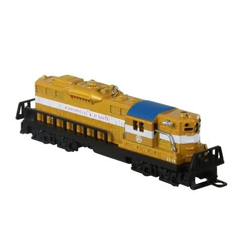 2020 Lionel - Ltd - 2348 Minneapolis & St Louis GP-9 Diesel Hallmark ornament (QXE3244)