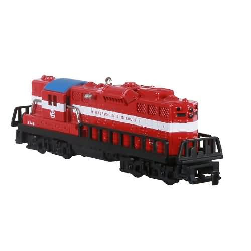 2020 Lionel #25 - 2348 Minneapolis & St Louis GP-9 Diesel Hallmark ornament (QXR9251)