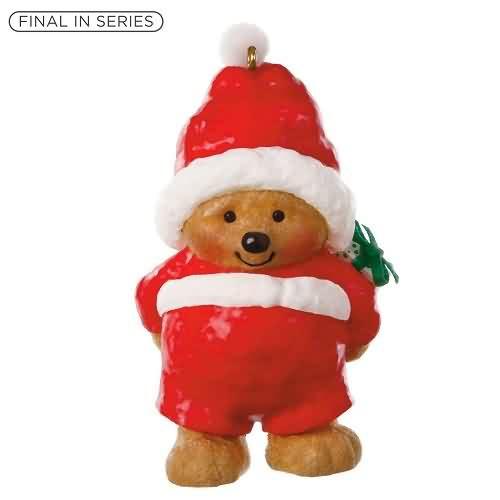 2020 Mary Hamilton's Bears #5F - Ho-Ho-Holiday Hallmark ornament (QXR9154)