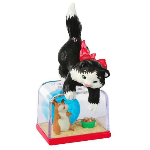 2020 Mischievous Kittens #22 - Hampster Cage Hallmark ornament (QXR9204)