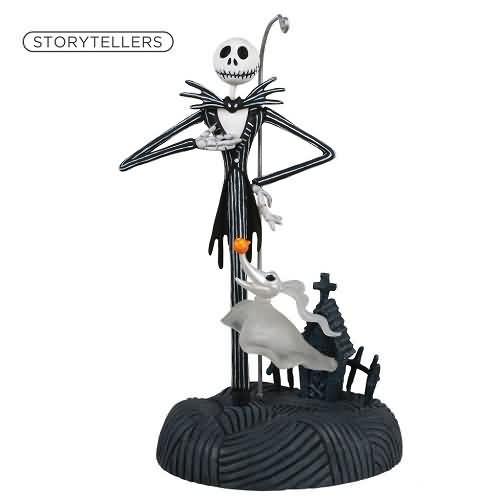 2020 Nightmare Storyteller - Jack Skellington Hallmark ornament (QXD6594)