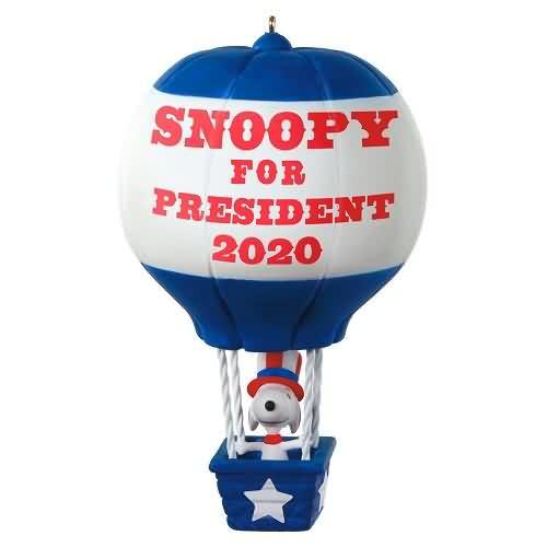 2020 Peanuts - Snoopy for President - Ltd (QXE3261)