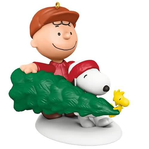 2020 Peanuts - The Perfect Tree Hallmark ornament (QXI2791)