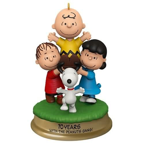 2020 Peanuts - You're a Good Man, Charlie Brown Hallmark ornament (QXI2794)