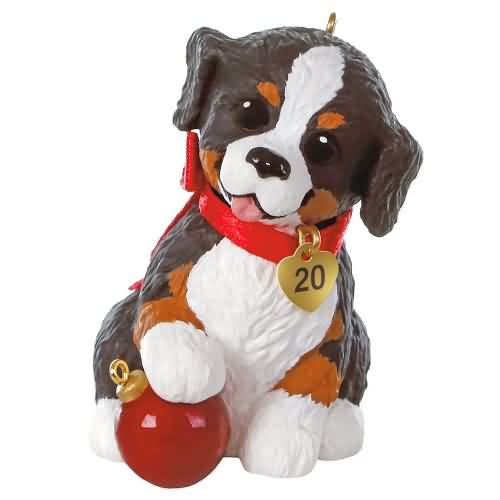 2020 Puppy Love #30 - Australian Shepherd Hallmark ornament (QXR9161)