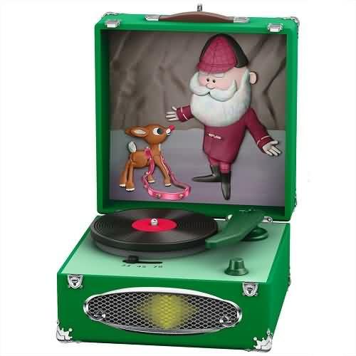 2020 Rudolph Record Player - Jingle, Jingle, Jingle Hallmark ornament (QXI6101)