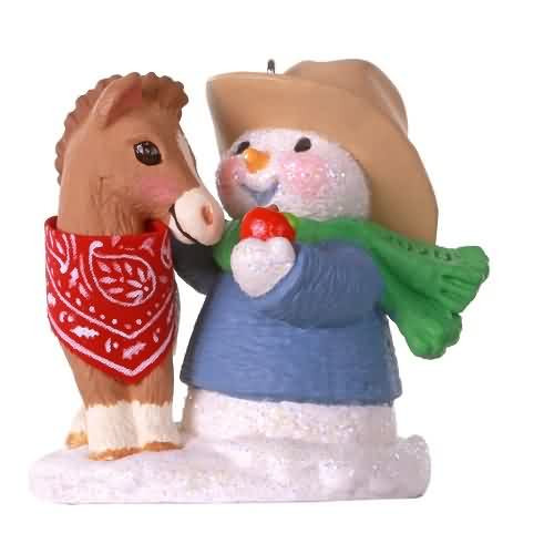 2020 Snow Buddies #23 - Horse Hallmark ornament (QXR9141)