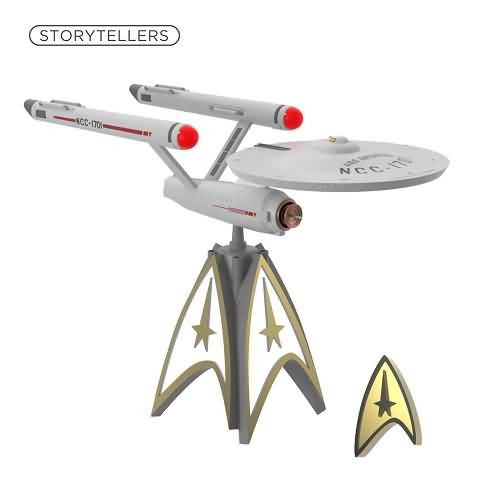 2020 Star Trek - U.S.S. Enterprise Tree Topper Hallmark ornament (QXI6004)
