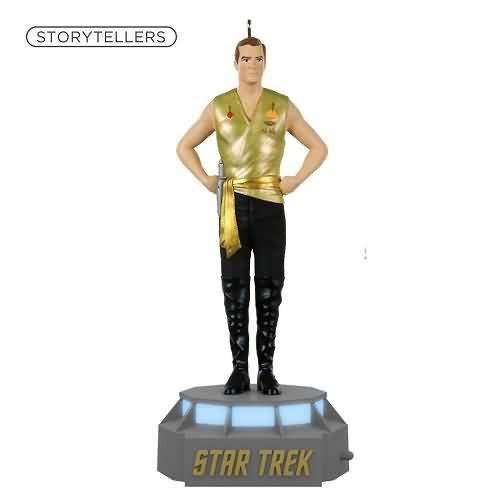 2020 Star Trek Storytellers - Captain James T Kirk Hallmark ornament (QXI6061)