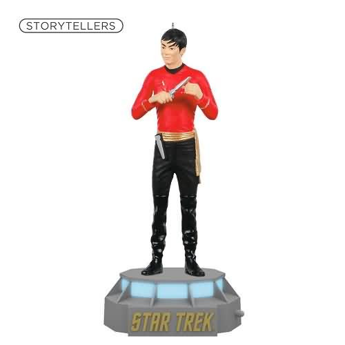 2020 Star Trek Storytellers - Lieutenant Hikaru Sulu Hallmark ornament (QXI6071)