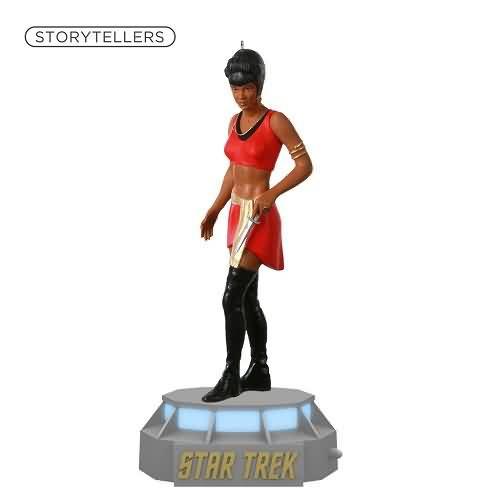 2020 Star Trek Storytellers - Lieutenant Nyota Uhura Hallmark ornament (QXI6074)