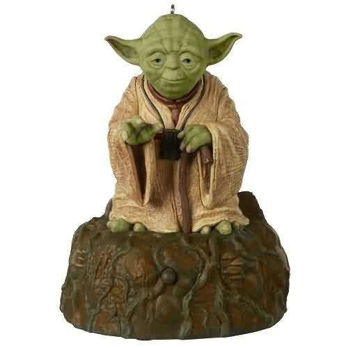 2020 Star Wars - Jedi Master Yoda Hallmark ornament (QXI4401)
