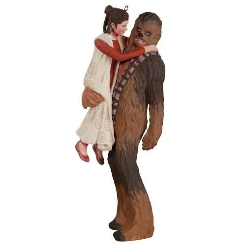 2020 Star Wars - Princess Leia and Chewbacca Hallmark ornament (QXI6184)