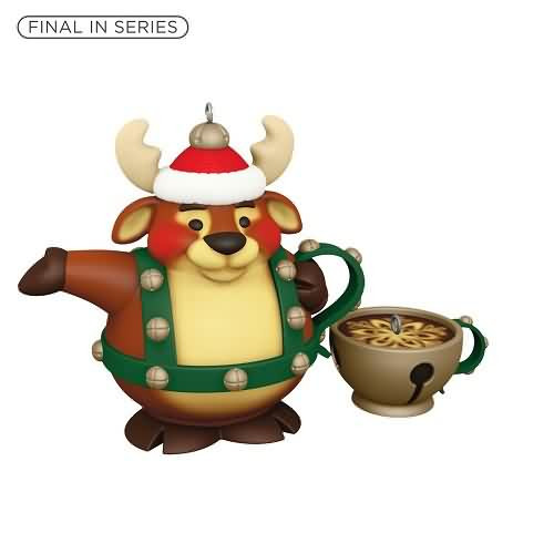 2020 Tea Time! #5F - Reindeer Hallmark ornament (QXR9211)