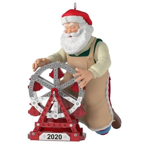 2020 Toymaker Santa #21 - Ferris Wheel Hallmark ornament (QXR9151)