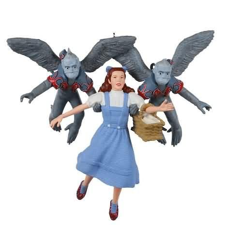 2020 Wizard of OZ - Dorothy Gets Carried Away Hallmark ornament (QXI2431)