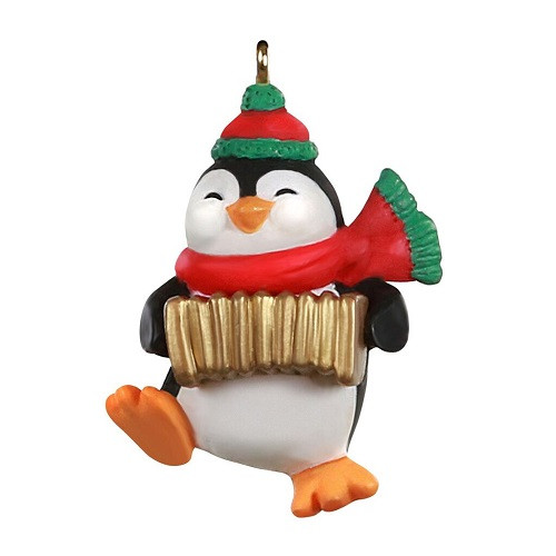 2020 Accordion Playing Penguin - Club