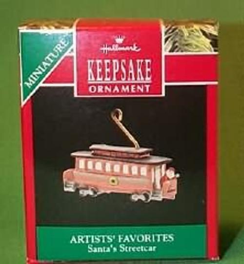 1990 Santa's Streetcar