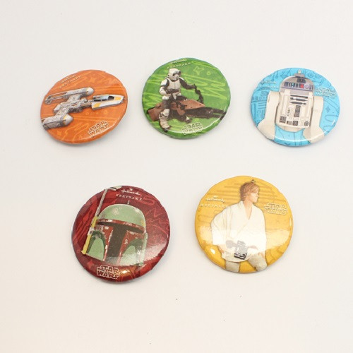 2019 Star Wars - Comic Con Pins Set of 5 - SDCC (QMP41032)