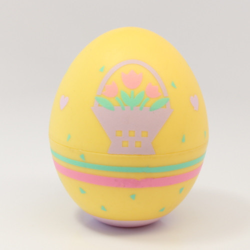 1989 Egg - Yellow Flowers (EBO3032)