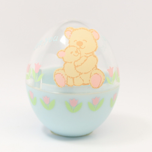 1992 Egg - Blue Clear Bears