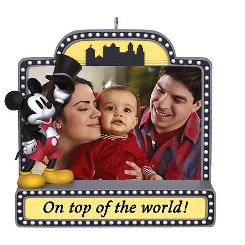 2021 Disney - Mickey Mouse Photoholder Hallmark ornament (QHX4105)