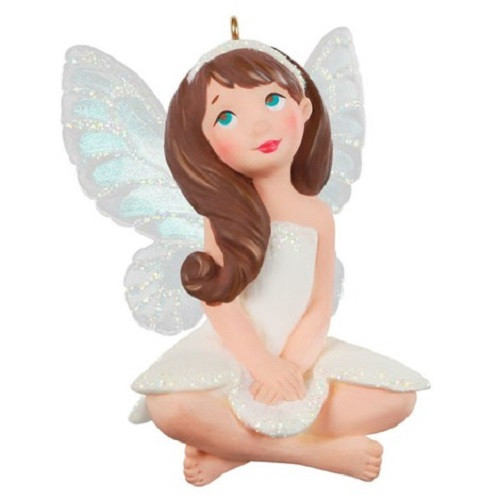 2021 Fairy Messenger #17 - Freesia Fairy Hallmark ornament (QXR9112)