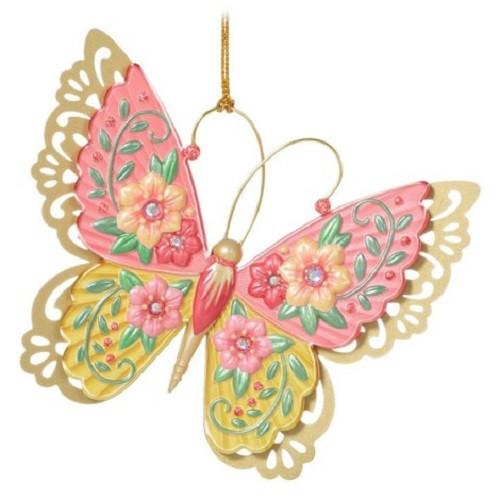 2021 Brilliant Butterflies #5 Hallmark ornament (QXR9192)