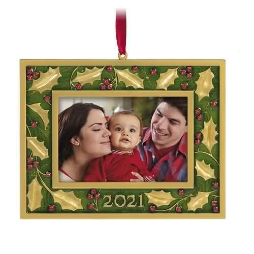 2021 A Beautiful Year Hallmark ornament (QGO2085)