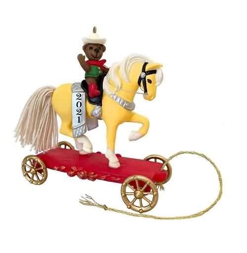 2021 A Pony For Christmas #24 Hallmark ornament (QXR9155)