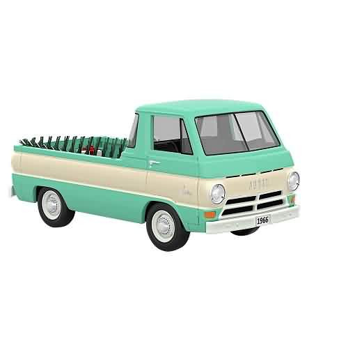 2021 All American Truck #27 - 1966 Dodge A-100 Hallmark ornament (QXR9242)
