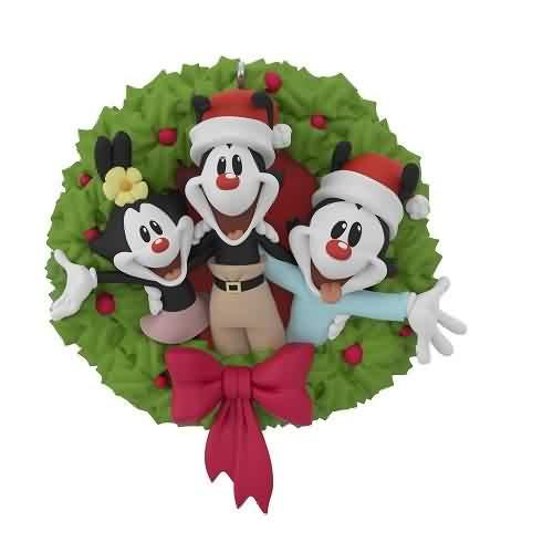2021 Animaniacs - Merry To The Max Hallmark ornament (QXI7025)