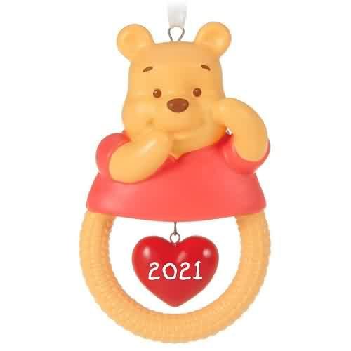 2021 Babys First Christmas - Winnie The Pooh Hallmark ornament (QXD6415)