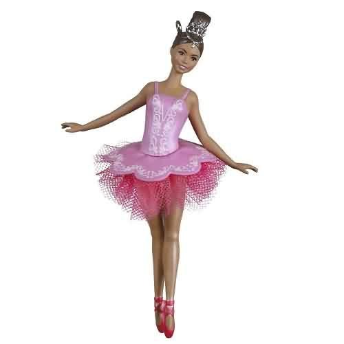 2021 Barbie - Beautiful Ballerina Hallmark ornament (QXI7382)