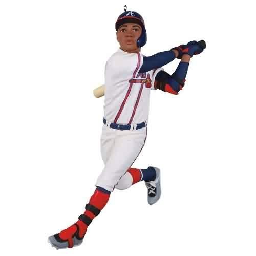 2021 Baseball - Ronald Acuqa Jr. Braves Hallmark ornament (QXI7362)