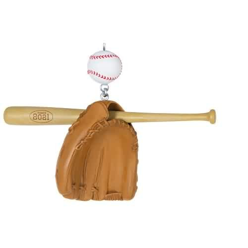 2021 Baseball Star Hallmark ornament (QGO2242)