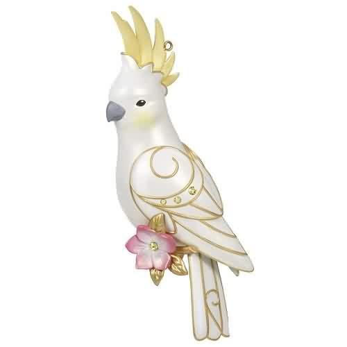 2021 Captivating Cockatoo - Club Hallmark ornament (QXC5555)