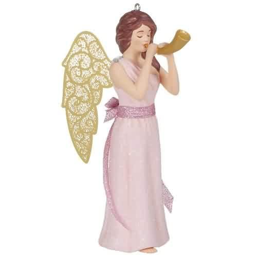 2021 Christmas Angels #4 - Harmony Hallmark ornament (QXR9015)