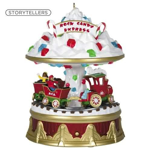 2021 Christmas Carnival #4 - Rock Candy Express Hallmark ornament (QXR9062)