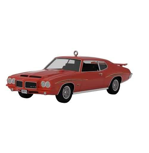 2021 Classic Car #31 - 1971 Pontiac GTO Judge Hallmark ornament (QXR9235)