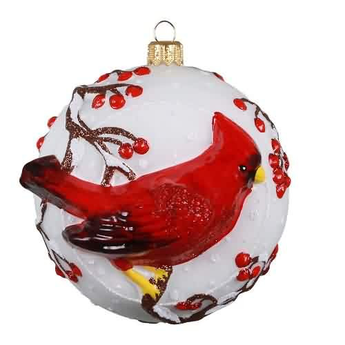 2021 Cordial Cardinal Hallmark ornament (QK2035)