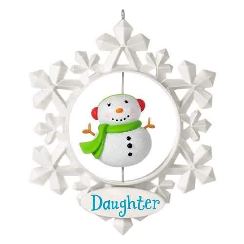 2021 Daughter Hallmark ornament (QGO2012)