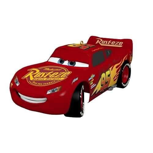 2021 Disney - Cars - Lightning McQueen 15th Annv Hallmark ornament (QXD6492)