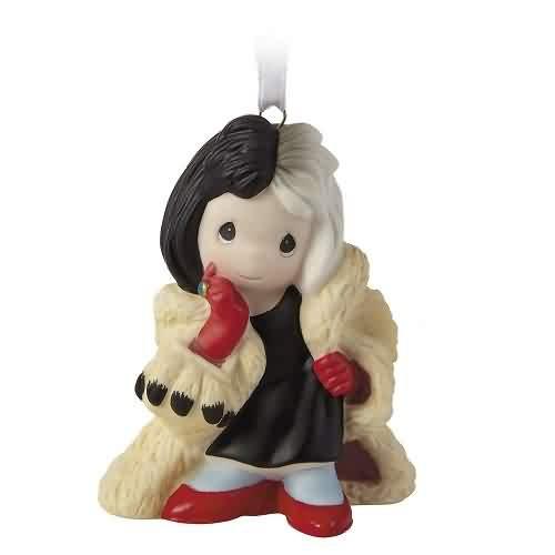 2021 Disney - Cruella De Vil 101 Dalmatians Hallmark ornament (QK1315)